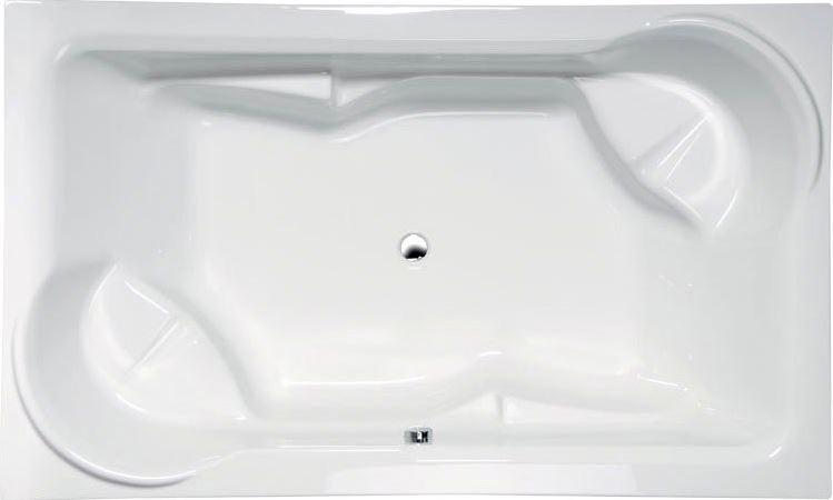 Polysan obdĺžníková vaňa DUO 200 x 120 cm