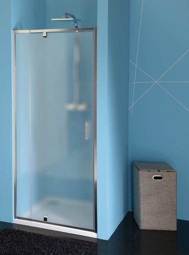 Polysan EASY LINE sprchové dvere 90-100 cm sklo Brick