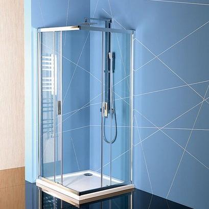 Polysan EASY LINE štvorcový sprchový kút 80/90 cm
