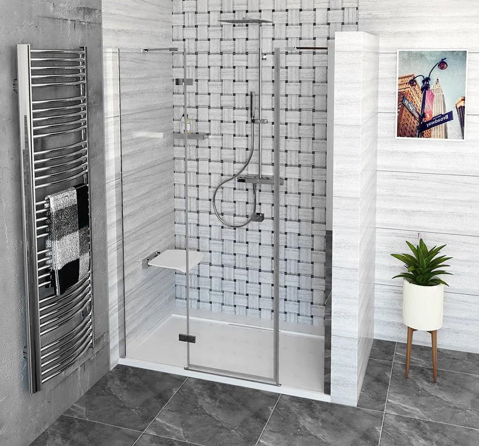 Polysan FORTIS LINE sprchové dvere do niky 130-140-150 cm