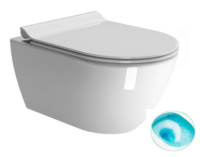 PURA WC misa závesná Rimless Swirflush