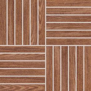 Rako WOOD mozaika 30 x 30 cm hnedá DDV1V620