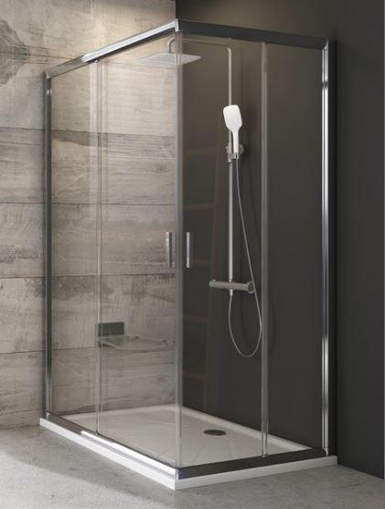 Ravak BLIX štvorcový sprchový kút 110 cm BLRV2K