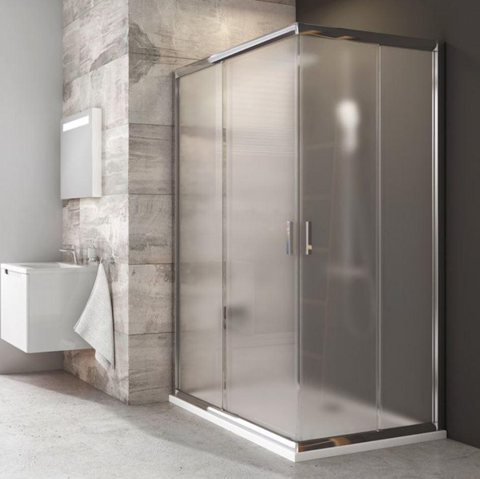 Ravak BLIX sprchový kút 110x80/110x90/110x100 cm polopriehľadné sklo