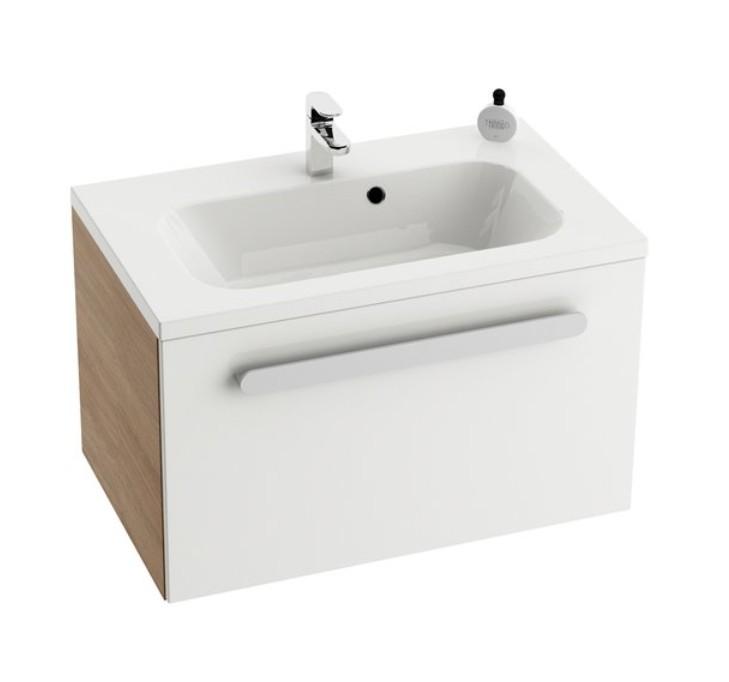 Ravak CHROME skrinka pod umývadlo 60-70-80 cm, biela/cappuccino