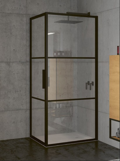 Riho GRID obdĺžnikový sprchový kút 80x80-90-100 cm