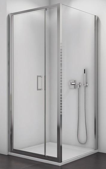 Ronal SanSwiss TOP-LINE štvorcový/obdĺžnikový sprchový kút 90/100/120/140 cm