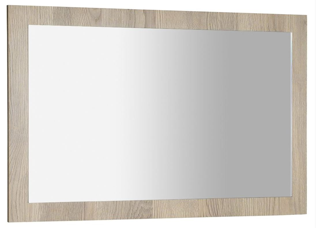 AMIA zrkadlo v ráme 120x80 cm dub Texas