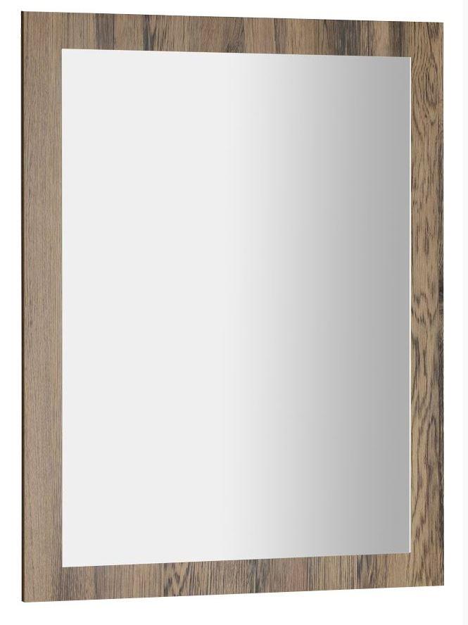 AMIA zrkadlo v ráme 60x80 cm dub Collingwood