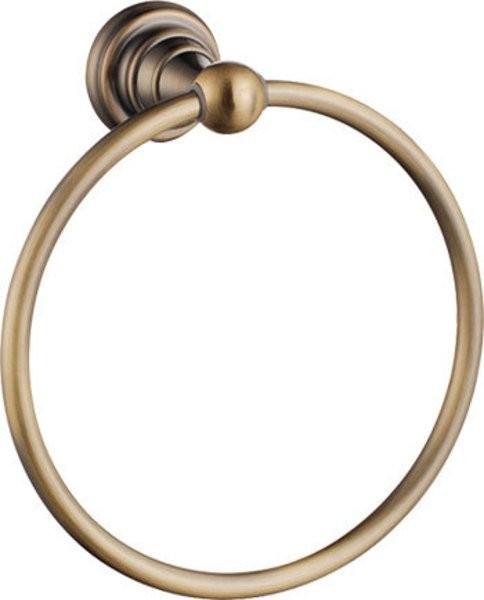 DIAMOND retro držiak na uterák bronz