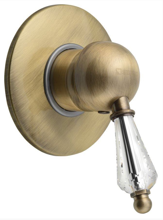 KIRKÉ CRYSTAL podomietková sprchová batéria bronz