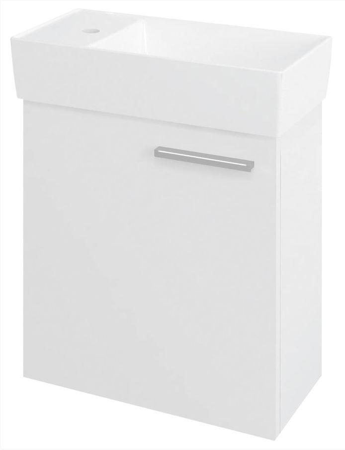 LATUS IX skrinka pod umývadlo 44 cm biela