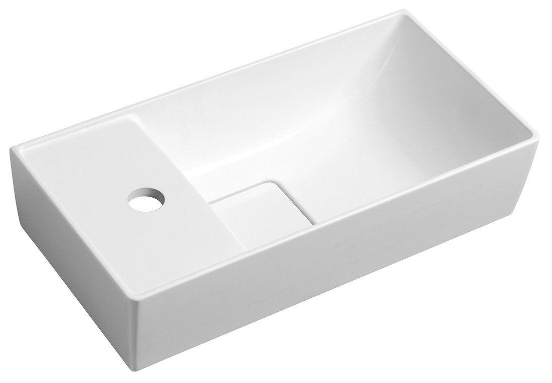 MAXX malé umývadlo 47,5 cm ľavé