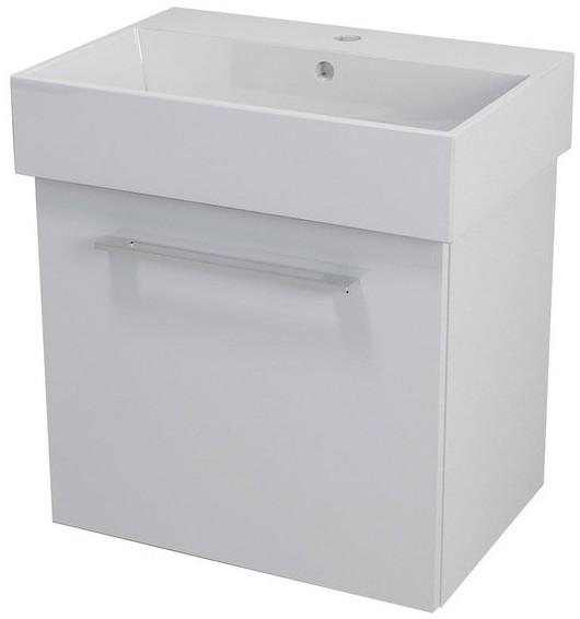 NATY skrinka s umývadlom 60 cm biela
