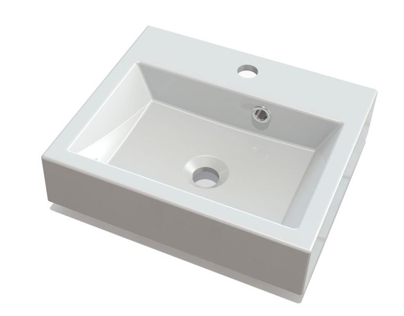 ORINOKO umývadlo z liateho mramoru 40 cm