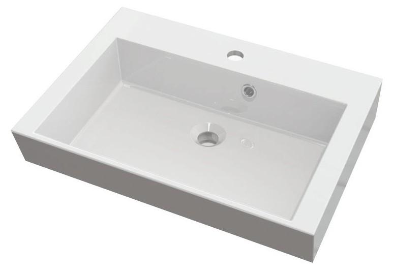 ORINOKO umývadlo z liateho mramoru 60 cm