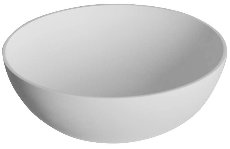 THIN umývadlo na dosku 39 cm biele matné
