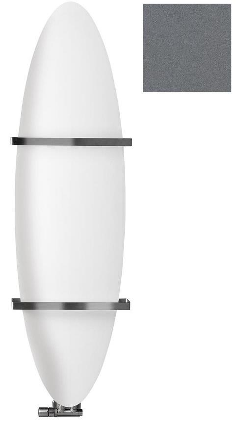 TAVOLA kúpeľňový radiátor biela/antracit šírka 45 cm