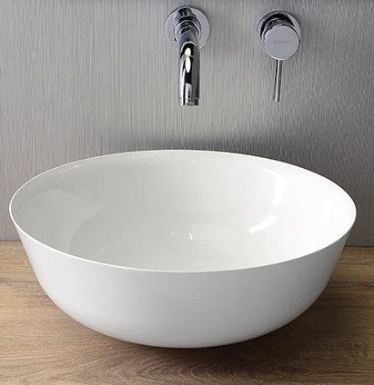 SINGA umývadlo na dosku z liateho mramoru 41,5 cm