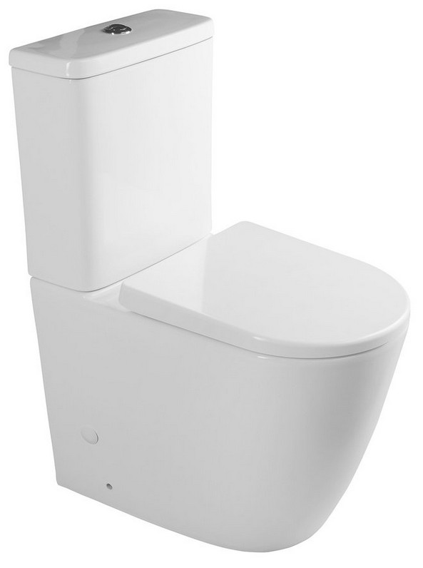 TURKU RIMLESS WC misa kombi + WC sedátko SoftClose