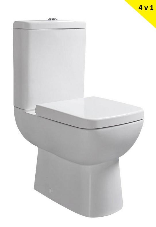TYANA SHORT WC misa kombi + WC sedátko SoftClose