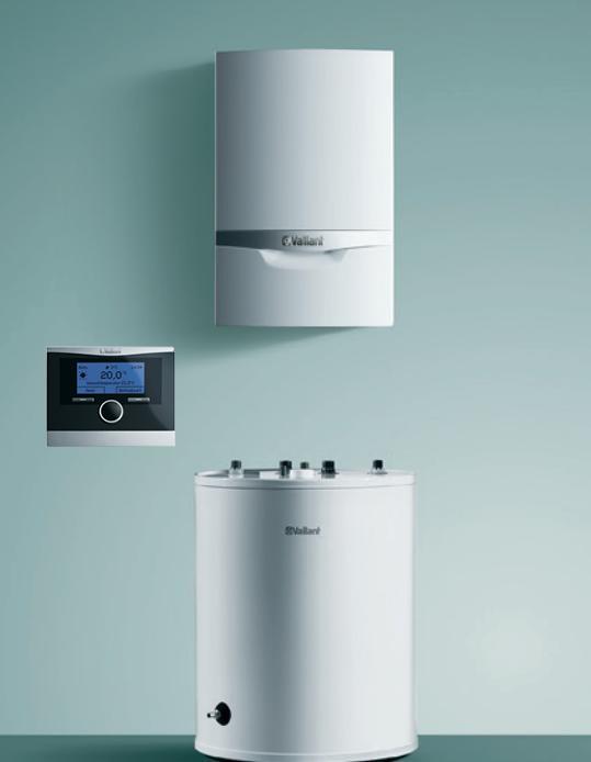 Vaillant ECOTEC plus + zásobník 120/150 l + termostat