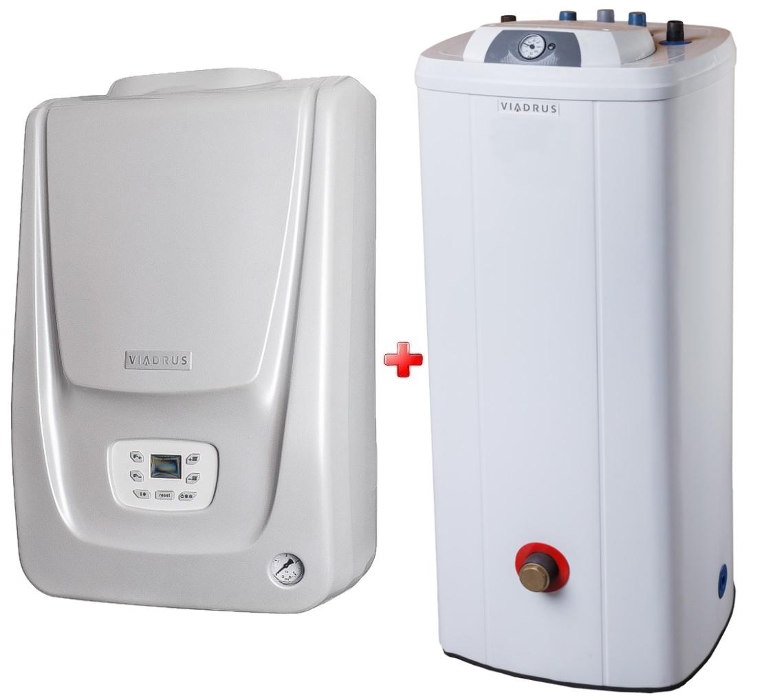Viadrus K4G3H plynový kondenzačný kotol 24/33 kW + zásobník 100 l