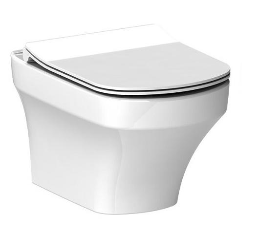 Vilan ELAN WC misa závesná rimless + sedátko SLIM SoftClose