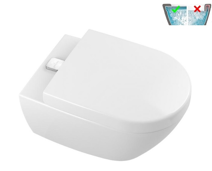 Villeroy & Boch SUBWAY 2.0 VIFRESH WC misa závesná DirectFlush C+