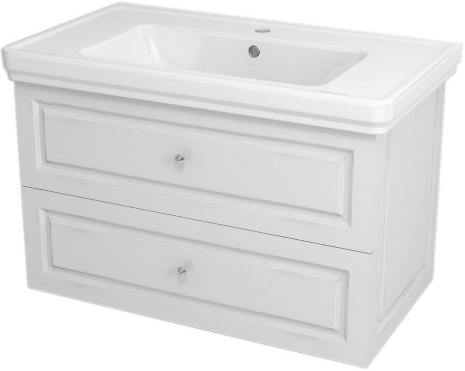 VIOLETA skrinka s umývadlom 90 cm biela