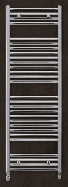 Zehnder AURA kúpeľňový radiátor 50 cm chróm