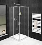 Gelco SIGMA SIMPLY štvorcový sprchový kút s posuvnými dverami 80-100 cm číre sklo