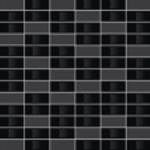 Villeroy & Boch BIANCO NERO dekor 30 x 30 cm čierna mozaika 1043BW97