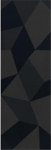 Villeroy & Boch BIANCO NERO obklad 30 x 90 cm čierny kryštál 1310BW92
