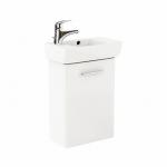 Kolo NOVA PRO skrinka s umývadlom 45 cm ľavá lesklá biela M39002