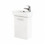 Kolo NOVA PRO skrinka s umývadlom 45 cm pravá lesklá biela M39003