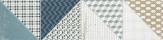 Rako DECO obklad/dlažba 15 x 60 cm viacfarebná DDPSU659