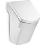 Roca HALL odsávací urinál s poklopom SoftClose biely