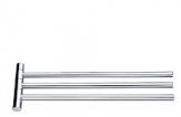 Nimco držiak na uterák BORMO otočný trojitý chróm BR 11096-3-26