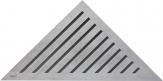 Alcaplast GRACE rohový podlahový rošt nerez matný