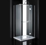 Aquatek CRYSTAL R13 obdĺžníkový sprchový kút 100 x 80 cm