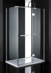 Aquatek CRYSTAL R23 obdĺžníkový sprchový kút 120 x 80 cm