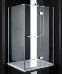 Aquatek CRYSTAL R33 obdĺžníkový sprchový kút 120 x 90 cm