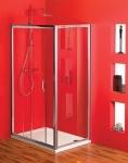 Gelco SIGMA obdĺžnikový sprchový kút 100x70/ 100x80/ 100x90/ 100x100, číre