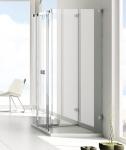 Aquatek INFINITY C24 U-kabína sprchovací kút 80 x 120 cm