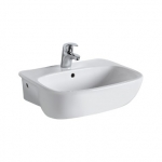 Kolo STYLE umývadlo polozápustné 55 cm biele L21855