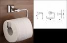 Nimco PALLAS ATHÉNA držiak na toaletný papier bez krytu  PA1205526