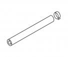 Protherm rúrka súosá priemer 80/125 – 1m kondenz.  T25K-1000