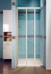 Ravak SUPERNOVA posuvné sprchové dvere biele 80 - 130 cm  ASDP3