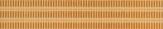 Rako REMIX listela 25 x 4,3 cm oranžová WLAH5017